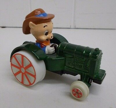 KW-16 Porkie Pig on Tractor VINTAGE Looney Tunes ERTL  Toy 1988