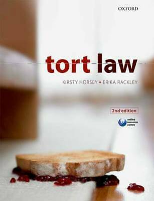 Tort law by Kirsty Horsey (Paperback)