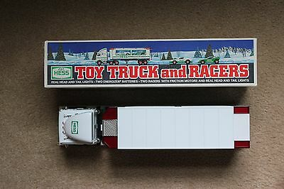 Hess Toy Truck and Racers in Original Box (1997)