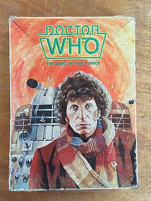 Doctor Who The Game Of Time and Place 1980 Tom Baker 4th Dr