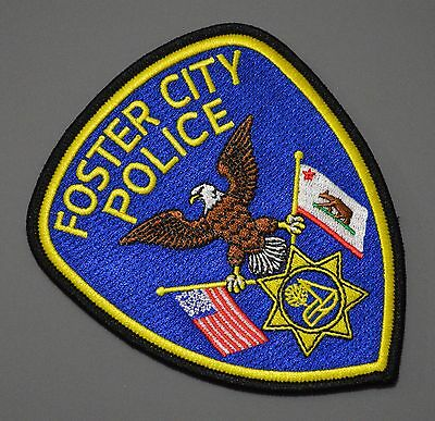 Foster City California Police Patch ++ Mint CA