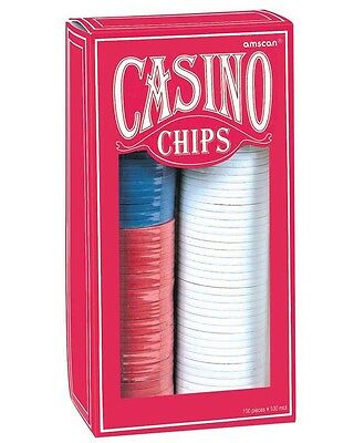 Casino Poker Chip Set One Size