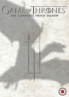 Game of Thrones Season 3 DVD The Complete 3 Series  New UK