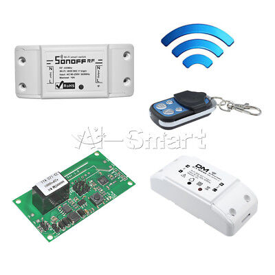 Sonoff Smart WiFi Wireless Home Switch Module fr RF 433Mhz Apple Android/IOS DIY