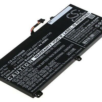 Replacement Battery For LENOVO 45N1740