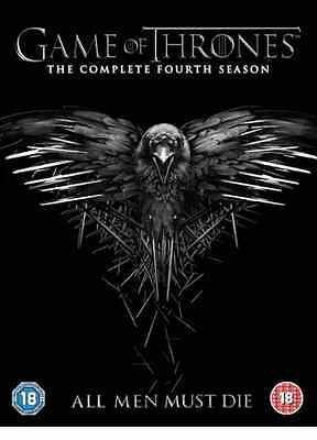 Game of Thrones The Complete Season 4 4th DVD NEW UK