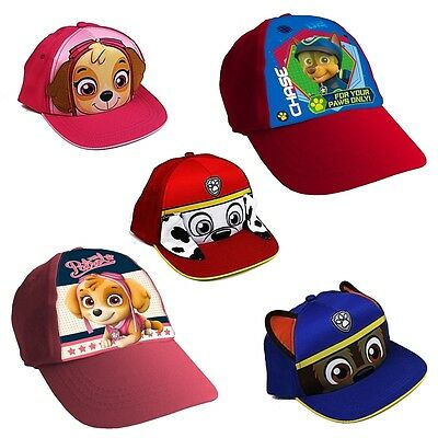 Paw Patrol Baseball Cap Children's Kids Boys Girls Peaked Sun Hat Beach Cap