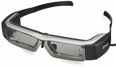 USED EPSON MOVERIO BT-200 Smart Glass See-Through Mobile Head Mount Display F/S