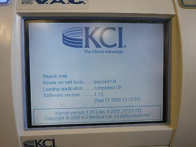 Kci Info V.a.c Compact Touch Portable Negative Wound Therapy Treatment Unit