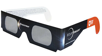 Celestron EclipSmart Solar Shades - Eclipse Viewing Glasses Single (1) Pack