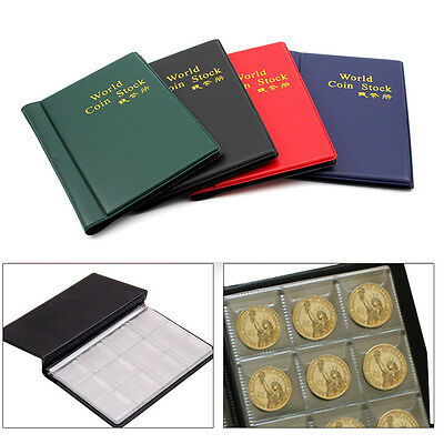 120 Coin Collection Pound Penny Holders Storage Collecting Album Book