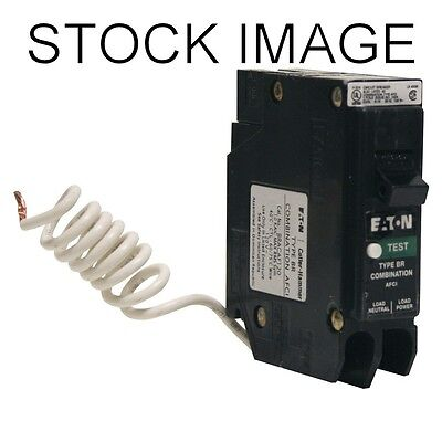 Eaton Type BR 15-Amp 1-Pole Combination Arc Fault Circuit Breaker - BRCAF115CS