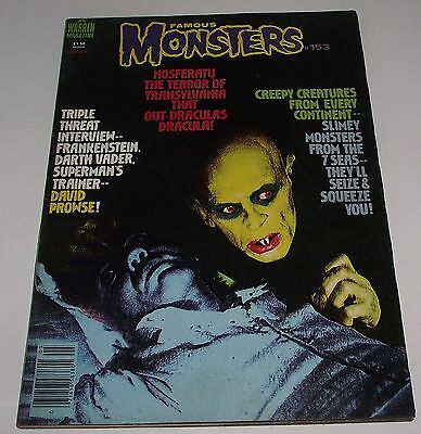 Famous Monsters #153 1979 Warren Magazine