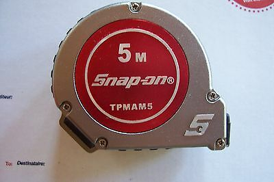 New Snap On 5M Metric Tape Measure. New In Box