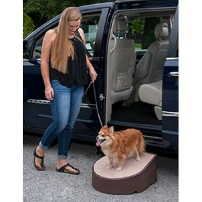 "Pet Gear Easy One Step Incline 10""~Up to 175lb~Washable tread~Dog/Cat Step Ramp"