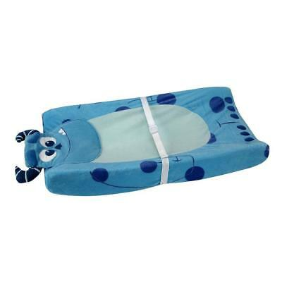 Kids Line 5510 Monsters INC. Blue Velour Changing Pad Cover Bedding 32x16 BHFO
