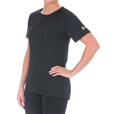 Under Armour 3225 Womens Finisher Semi-Fitted Crew Neck T-Shirt Athletic BHFO