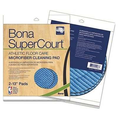 Bona Supercourt Athletic Floorcare Microfiber Cleaning Pad - AX0003501
