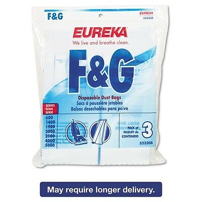 Electrolux Sanitaire Style F & G Disposable Dust Bags For Upright - 52320D6