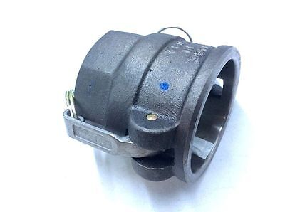 "PT Coupling 1800425 Cam and Groove Hose D-Coupler 2-1/2"" Coupler x NPT Female"
