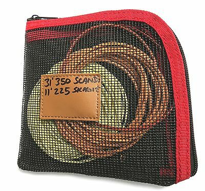 "6x6"" SKAGIT WALLET for spey heads, opst, running lines, leader spools, intruders"
