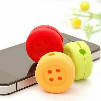 Cable Bobbin Hot Cord Wrap Wire Organizer Winder Holder For Headphone Earphone