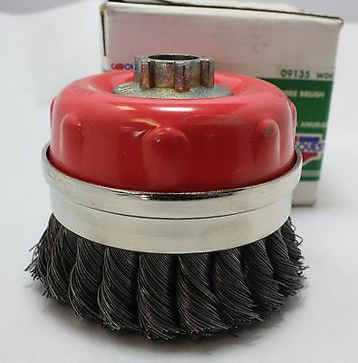 "Car Quest 4"" Knot Cup Wire Brush 5/8-11   09135"