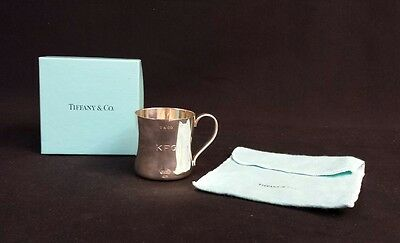 Tiffany & Co Sterling Silver Baby Cup with Original Box