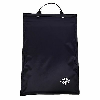 "Aqua Quest Monsoon Laptop Case - 100% Waterproof - 15"" Black"