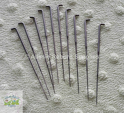 Reborn Baby Rooting Hair Felting Needles 38 Gauge 9 Barb Baby BEGINNERS