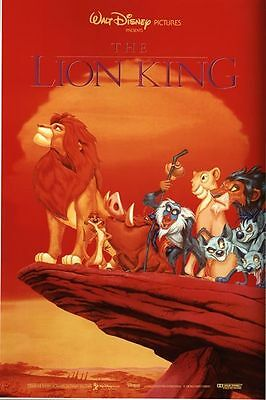 A0 A1 A2 A3 A4 Sizes Lion King The Musical Vintage Poster