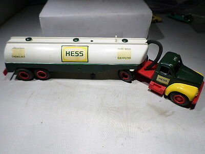 1964 Hess Truck VINTAGE Made by Marx Oil Gas Tanker