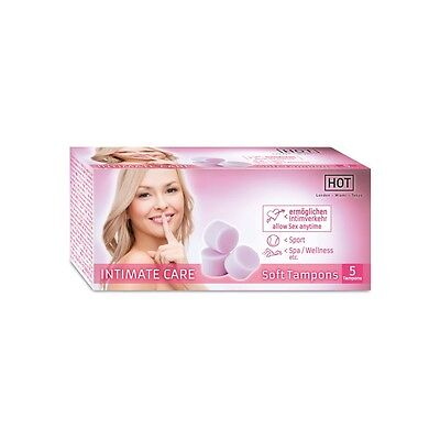 Gp) Hot Intimate Care Soft Tampones 5 Uds