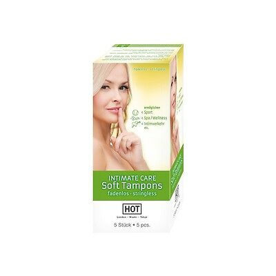 Gp) Hot Intimate Care Tampones Suaves 5 Uds