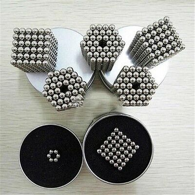 3mm Magnetic Bucky Balls Magnet Spacer Beads Cube Kids Child Adult DIY Toys 216
