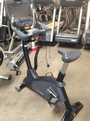 Cybex 770C Upright Bike With E3 Embedded Screen Commercial Gym Equipment
