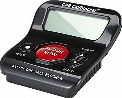 Phone Call Blocker 1200 Number Capacity Block Nuisance Stalker Solicitor Callers