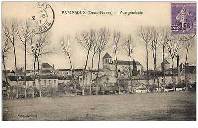 (Ph) New Cpa 79 Pamproux 1927 *** Le Village ***