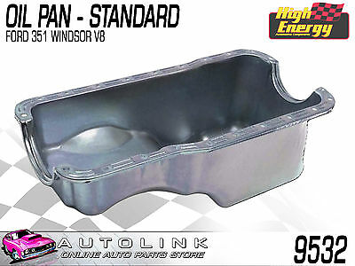 Oil Pan Sump Standard Suit Ford 351 Windsor V8 Falcon Xr Xt Xw Xy & Mustang