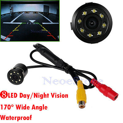 Monitor Car Rear View Camera CCD 8 IR LED Reverse Waterproof Night Vision AU