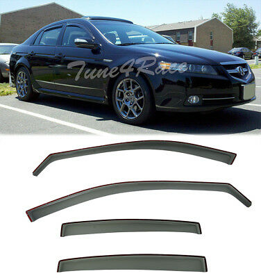 FOR ACURA TL Inchannel Style Side Window Visors Rain Guards - Acura tl window visors