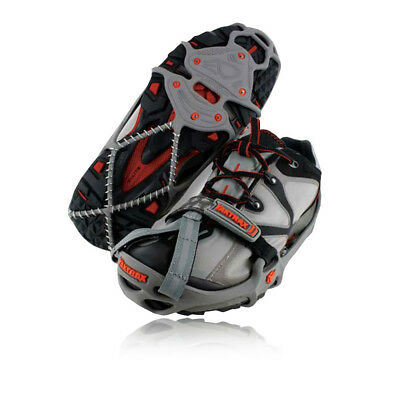 Yaktrax Run Mens Womens Grey Running Outdoors Walking Hiking Snow Ice Grips