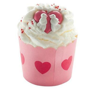 Bomb Cosmetics Jar of Hearts Bath Cocoa Swirl