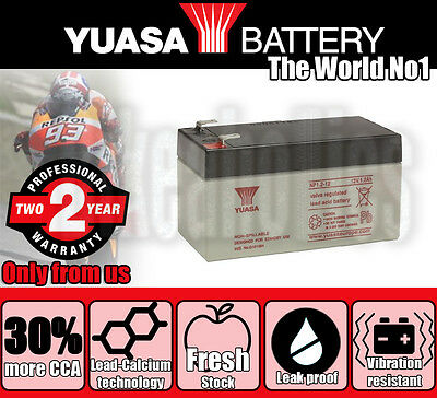 Genuine Yuasa Battery - 2Y Warranty- KTM Freeride E 0 E-SX - 2015