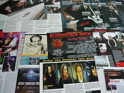 Devin Townsend - Magazine Cuttings Collection (Ref X1A)