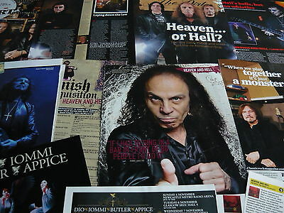 Heaven & Hell - Cuttings/clippings Collection (Ref E8)