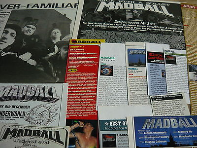 Madball - Magazine Cuttings Collection (Ref T30)