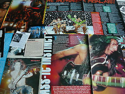 Manowar - Magazine Cuttings Collection (Ref S4)
