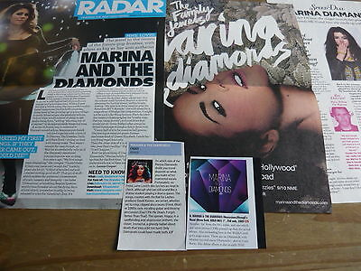 Marina & The Diamonds - Magazine Cuttings Collection (Ref Z5)