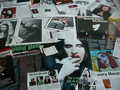 Marilyn Manson - Magazine Cuttings Collection (Ref Ze)